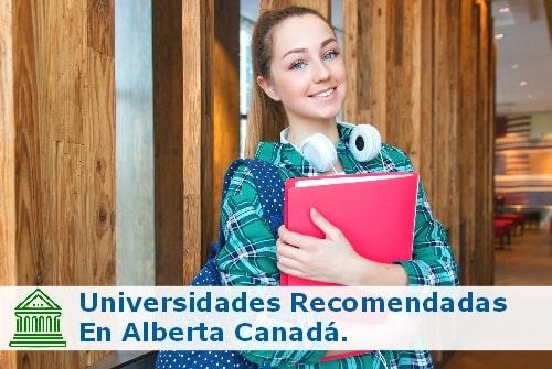 universidades en Alberta Canadá