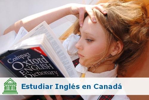 opciones para estudiar inglés en Canadá