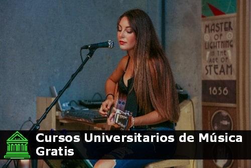 cursos universitarios de música gratis