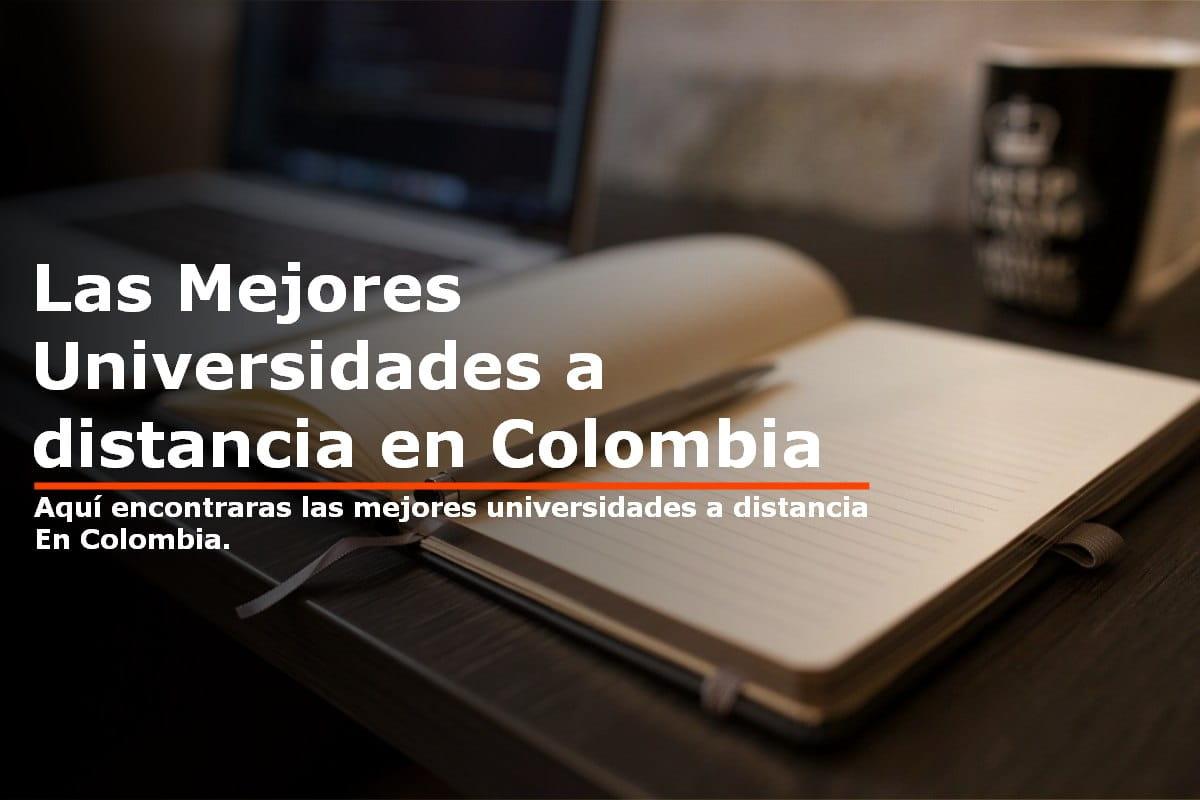 Mejores universidades a distancia en Colombia para estudiar